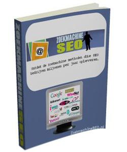 Het zoekmachine SEO optimalisatie boek